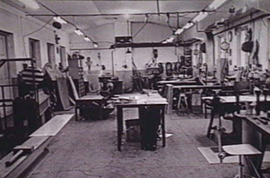 Nedermans erster Workshop 1944
