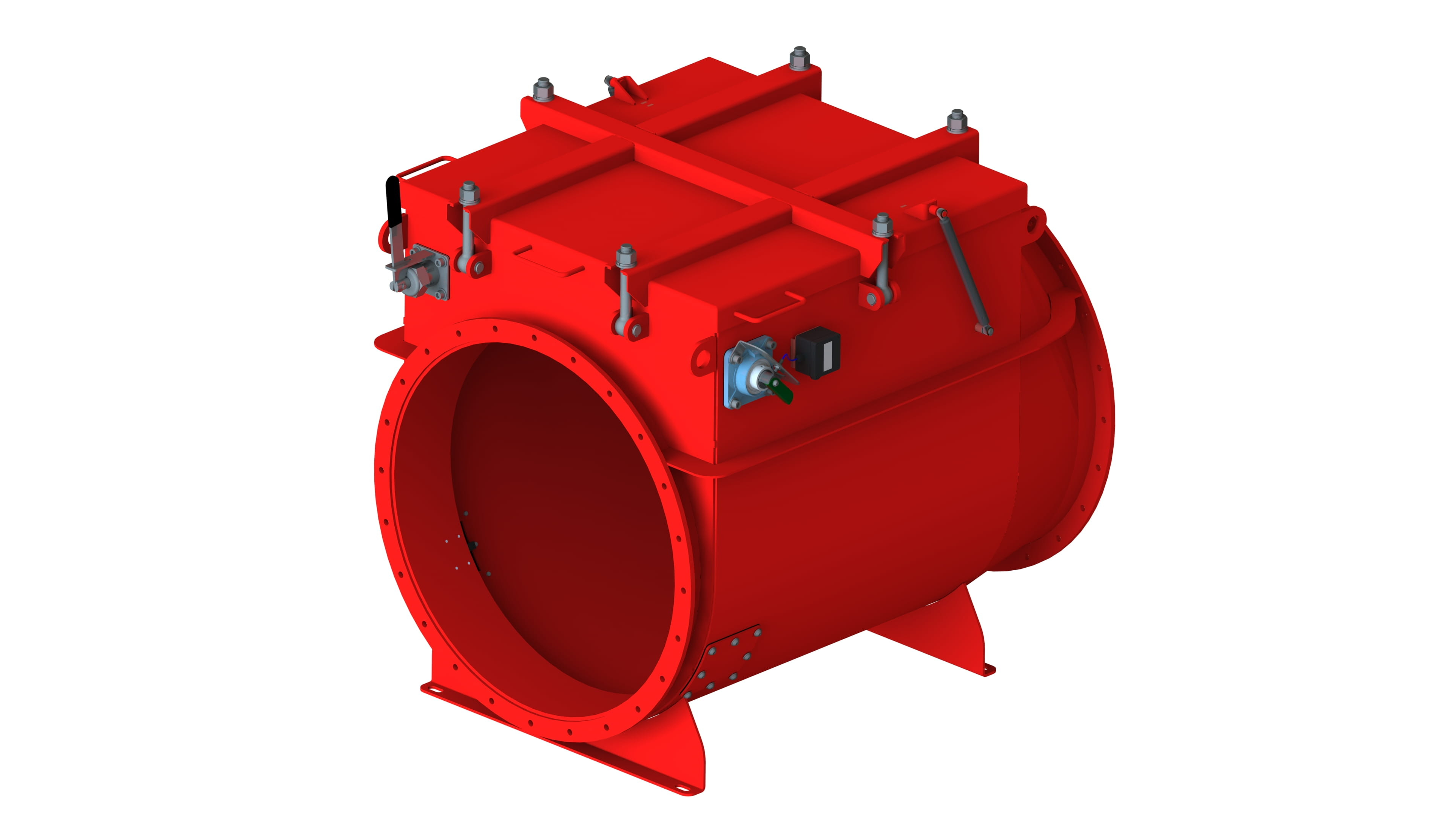 Nederman B-flap 1 Explosion Isolation Flap Valve