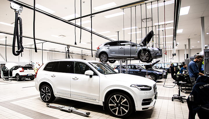 Volvo Vehicle Service Center