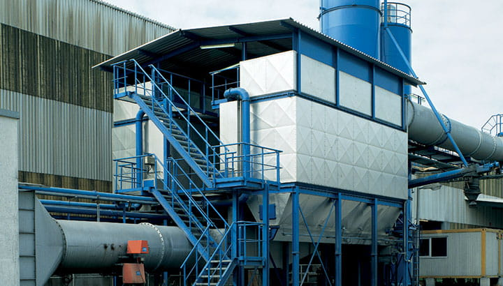 Engineered solutions for industrial air filtration for process industries and energy