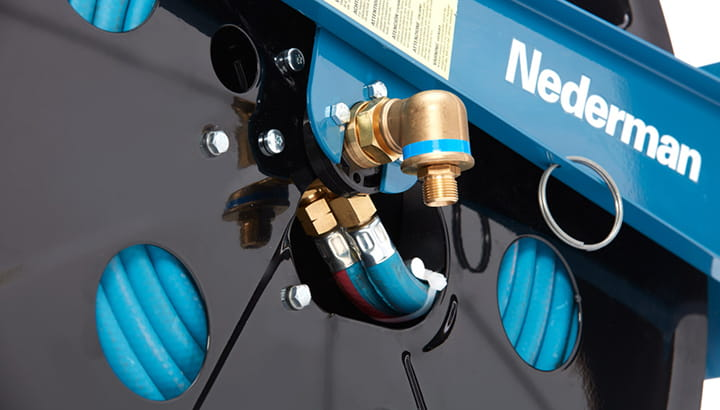 Nederman industrial hose reel and cable reels