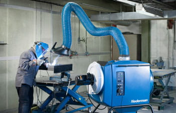 Welding Fume Extraction Systems Nederman