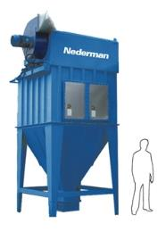 Mjc Cartridge Dust Collector Nederman